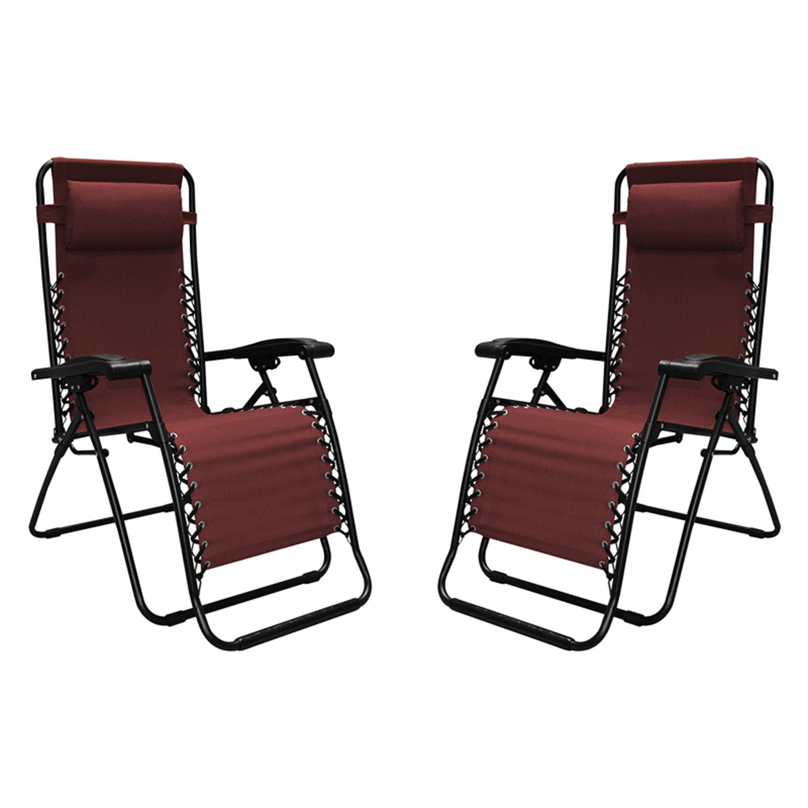 Caravan Sports Infinity Zero Gravity Chair 2 Pack - Red