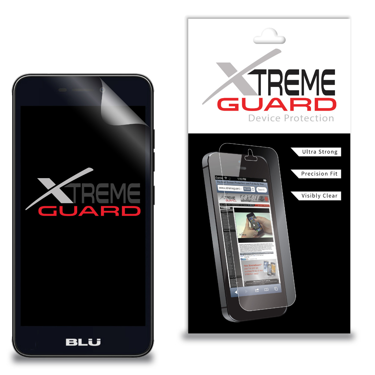 Premium XtremeGuard™ Screen Protector Cover for Blu Neo X2 N170Q (Ultra Clear)