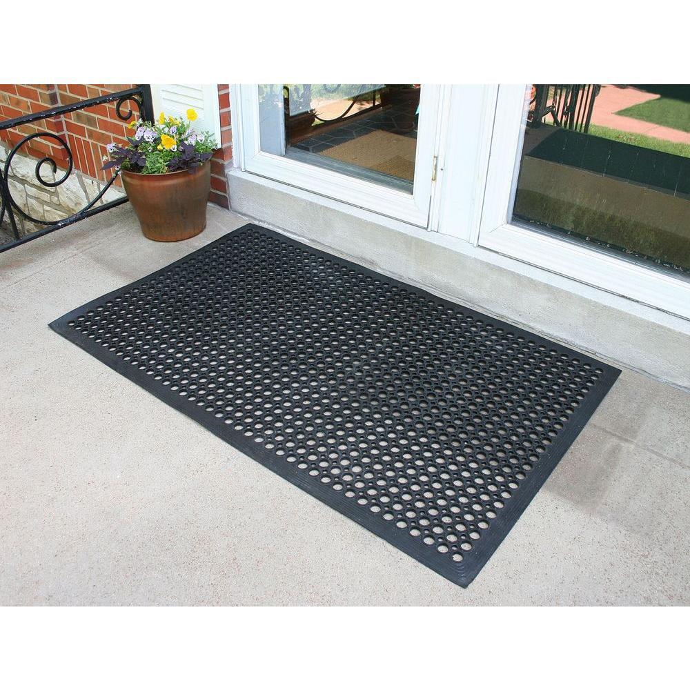 Foot Industrial Rubber Floor Mat   Walmart.com