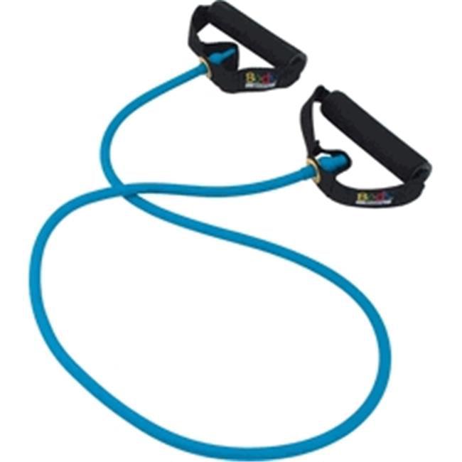 Body Sport ZZR147BLT Studio Series Fitness Performance Tube,Blue - Light Resistance
