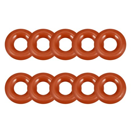 Silicone O-Ring 12mmx5mmx3.5mm VMQ Seal Rings Sealing Gasket Red 10PCS 3m Super Silicone Seal