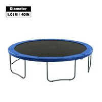 AUTCARIBLE Round Trampoline Replacement Safety Pad Tear-Resistant Trampoline Edge Cover Spring Cover Edge Protector Round Frame Pad