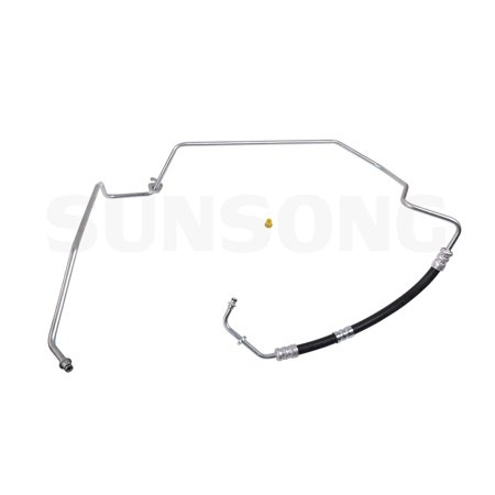 Sunsong 3403709 Power Steering Pressure Line Hose Assembly for Volvo S60, S80