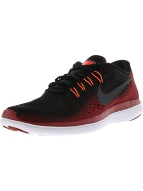 1fb98b1df43c Product Image Nike Men s Flex 2017 Rn Black   Metallic Hematite-Tough Red  Ankle-High Running