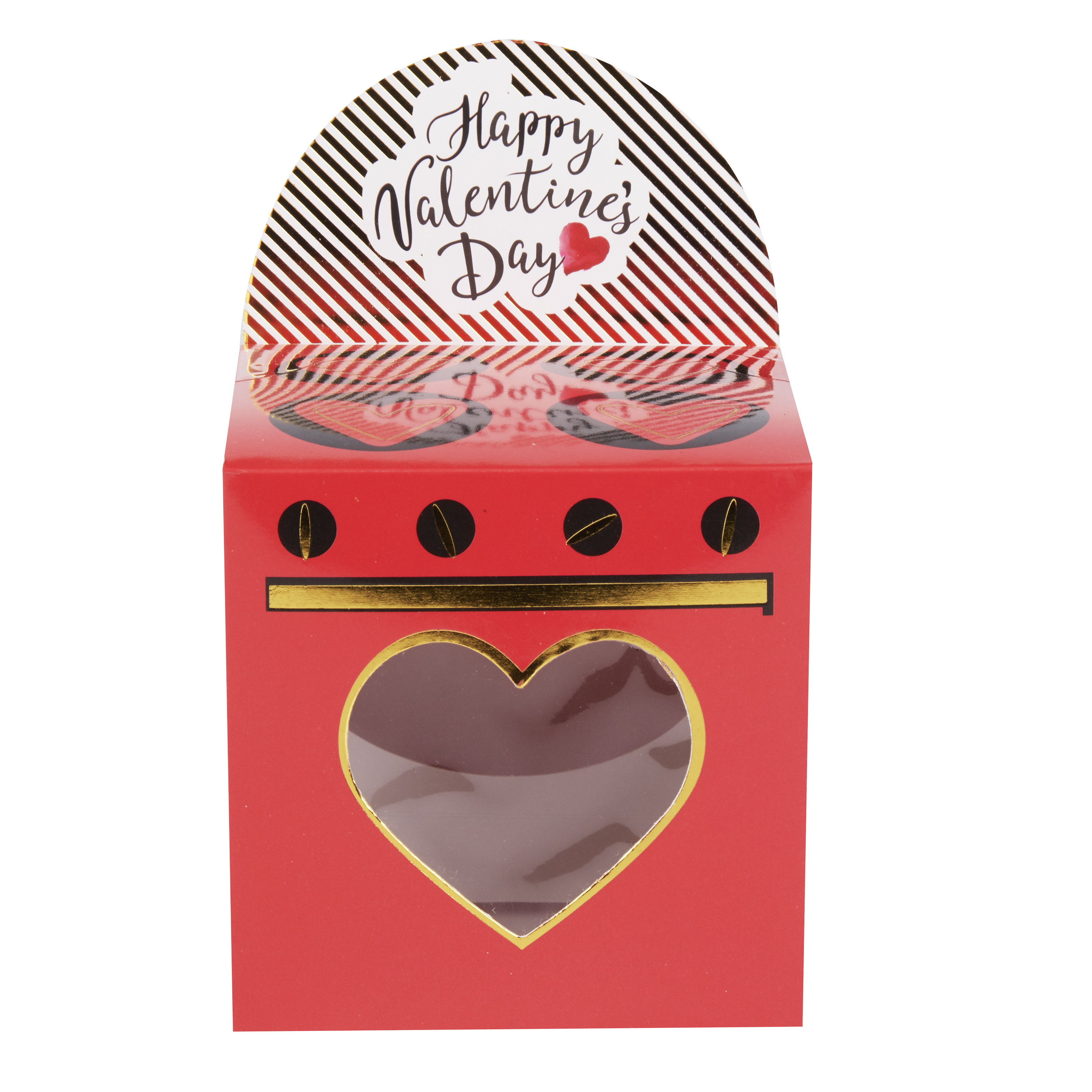Way To Celebrate Valentine's Day Oven Cupcake Box