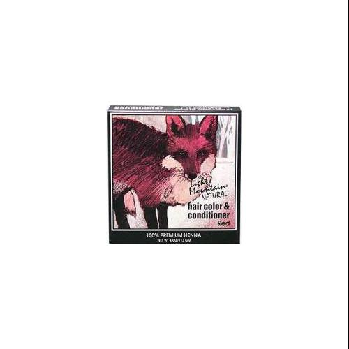 Hair Color & Conditioner- Red Light Mountain 4 oz Powder