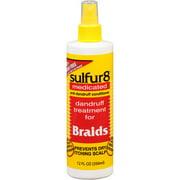 Best Braid Sprays - Sulfur8 Dandruff Treatment for Braids, 12 Fl Oz Review