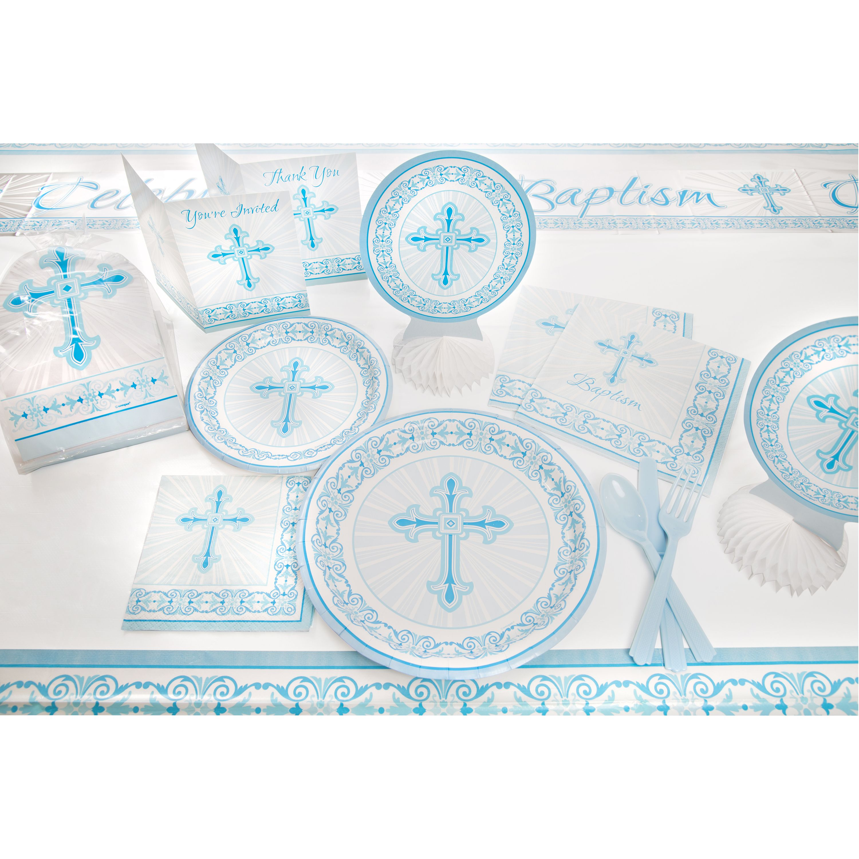 Blue Radiant Cross Party Supplies