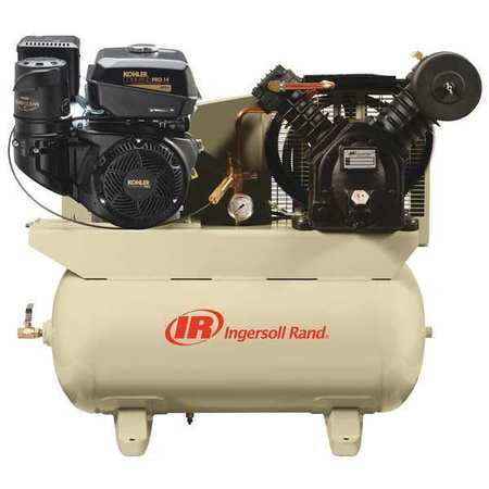 Stationary Air Compressor,14 HP,Kohler INGERSOLL RAND 2475F14G