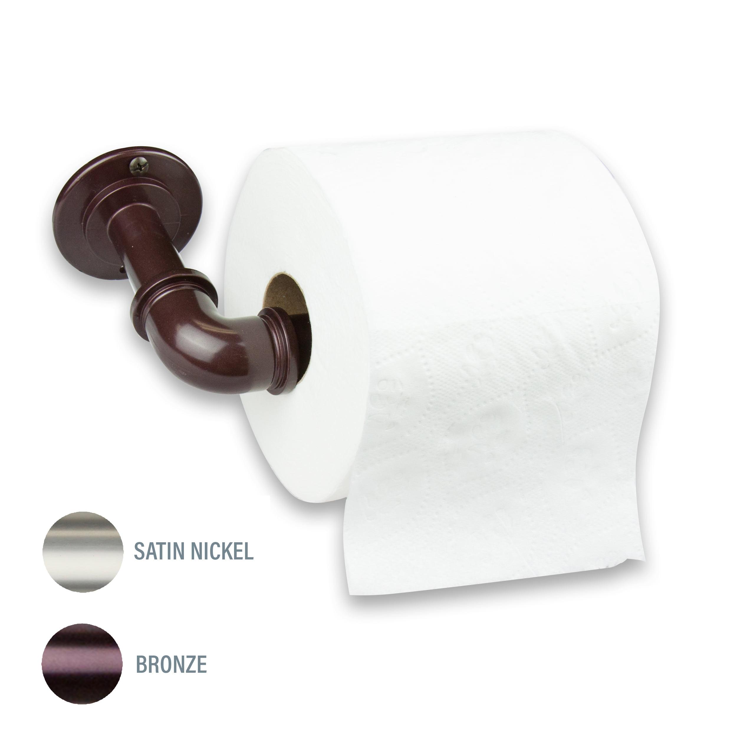 Single Toilet Paper Holder Bronze