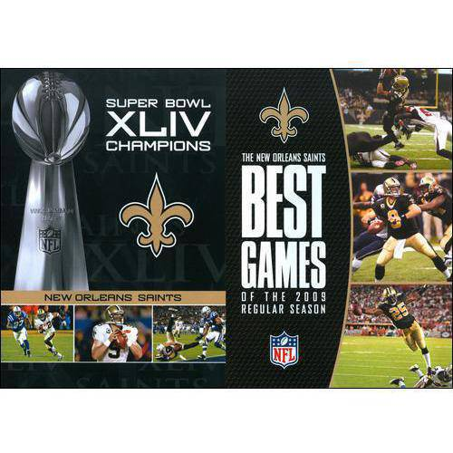 NFL Super Bowl XLIV Champions: New Orleans Saints / NFL The New Orleans Saints: Best Games Of The 2009 Regular Season (Best Super Bowl Chili)