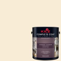 Cupcake Frosting, KILZ COMPLETE COAT Interior/Exterior Paint & Primer in One, #LD190-01