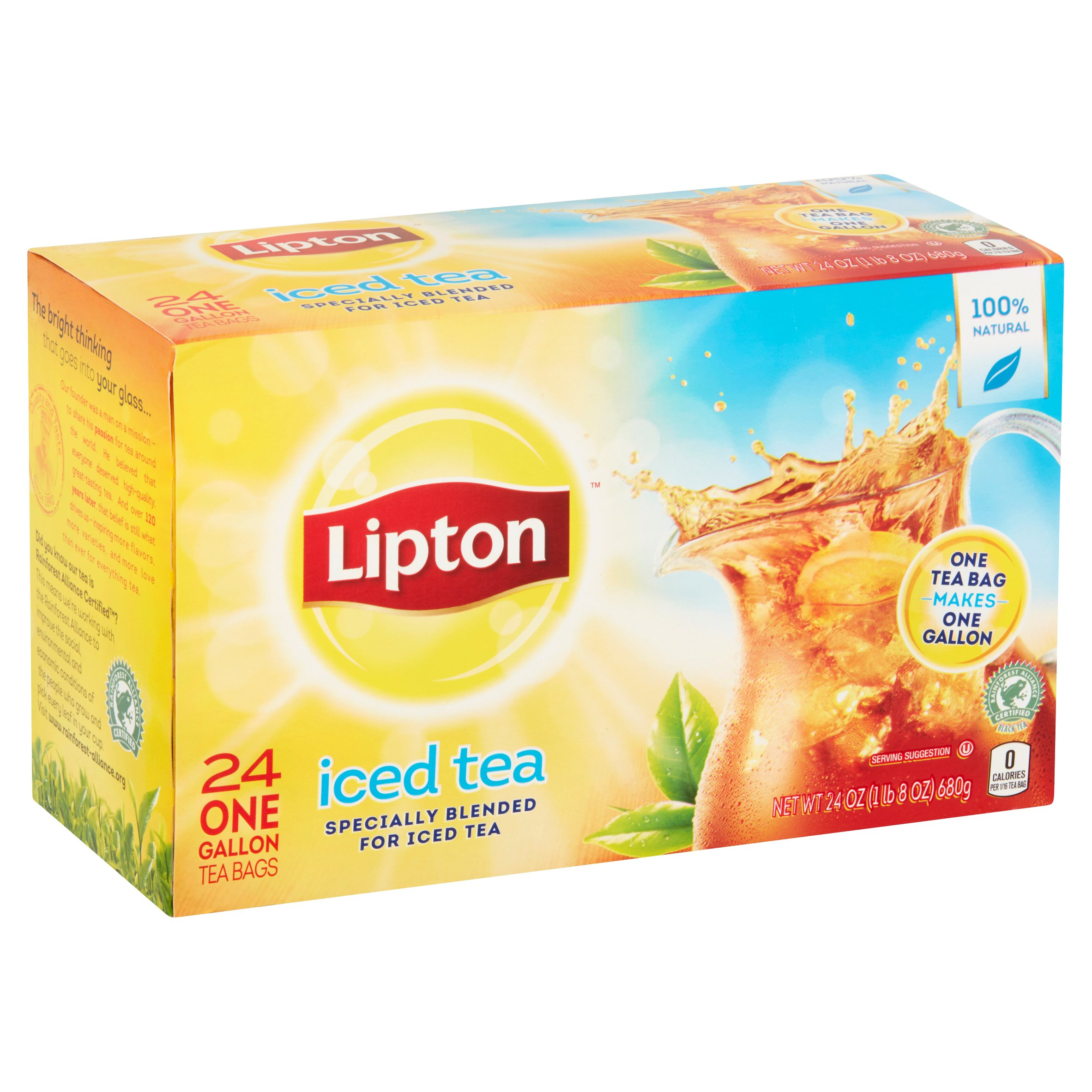 how many calories in a lipton tea bag. Black Bedroom Furniture Sets. Home Design Ideas