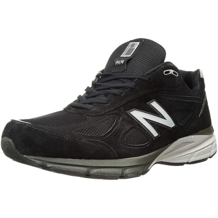 search for latest cute cheap volume large New Balance M990BK4-2E: Mens M990BK4 Wide Running Black/Silver Sneakers (13  2E US Men, Black/Silver)