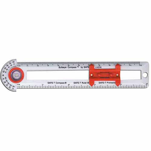 Safe-T 3-in-1 BullsEye Compass, 10pk by SCHOOL SPECIALTY INC