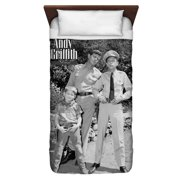 Andy Griffith Lawmen Twin Duvet Cover White 68X88