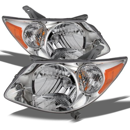 2005 2008 Pontiac Vibe Replacement Headlights Headlamps Left Right 2006 2007