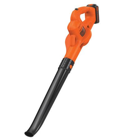 BLACK+DECKER LSW221 20V MAX* Cordless Lithium-Ion Sweeper Kit, 1.5Ah