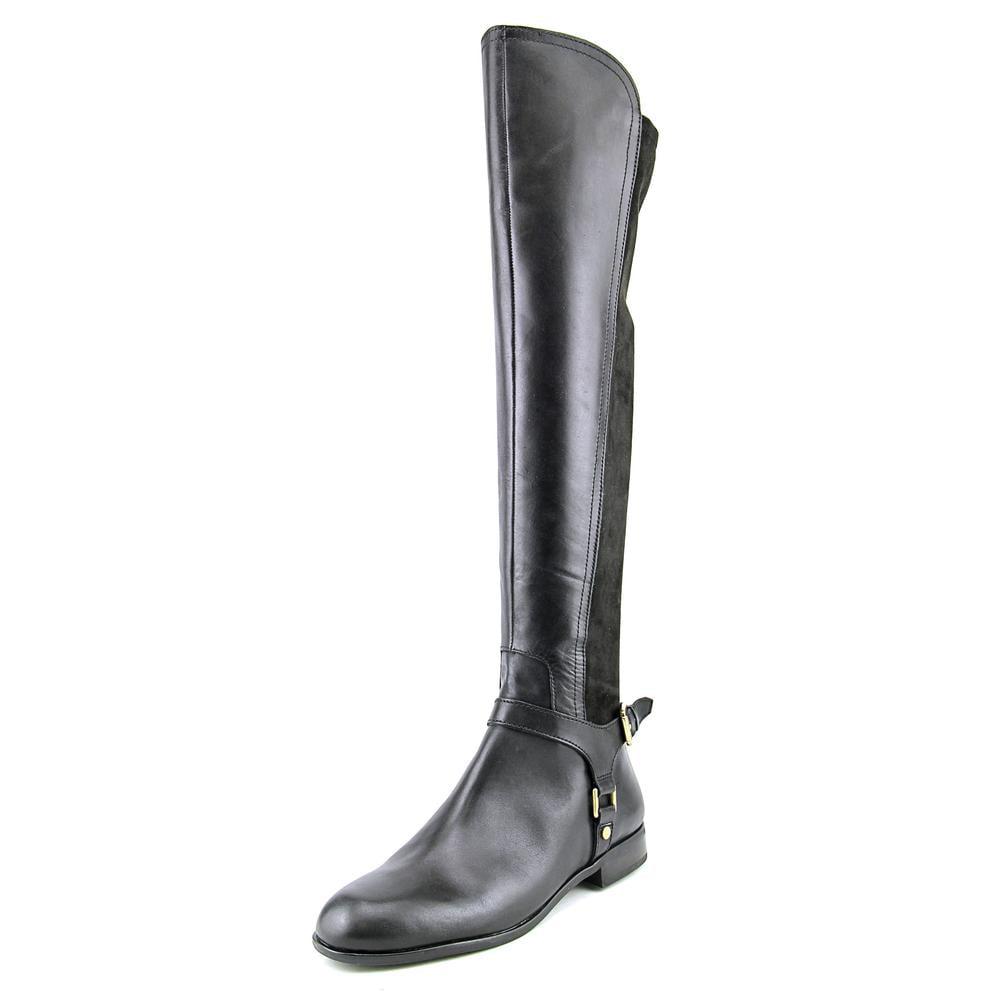 Franco Sarto Mast Round Toe Leather Over the Knee Boot by Franco Sarto