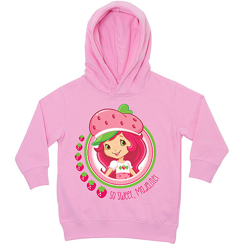 Personalized Strawberry Shortcake So Sweet Pink Toddler Hoodie