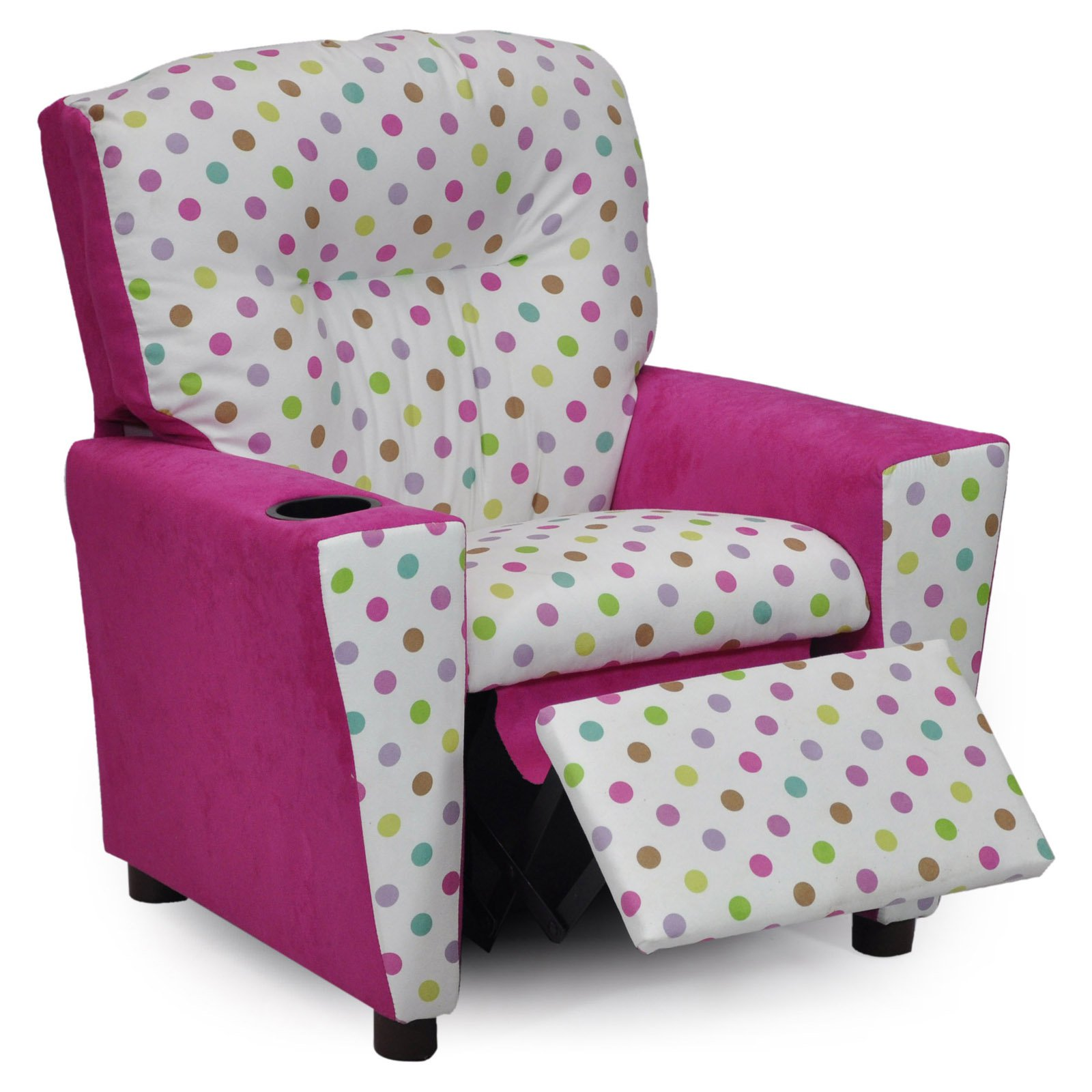Kidz World Bubble Gum Kids Recliner