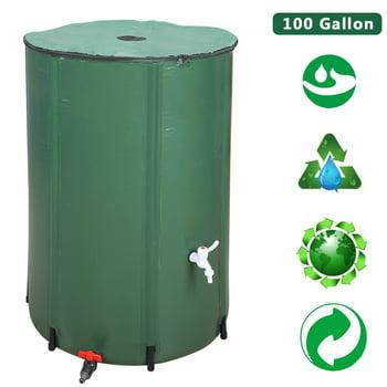 Ktaxon Outdoor Patio 100 Gallon Water Storage Barrel