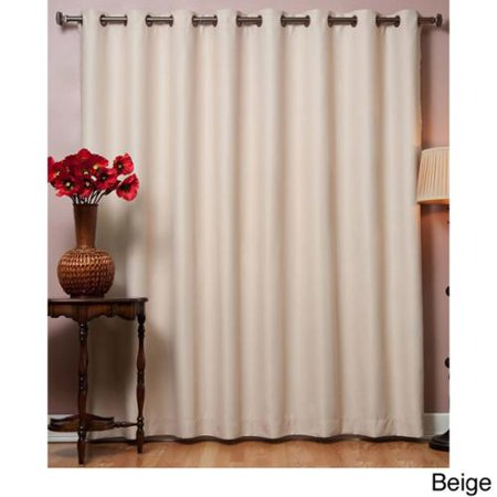Aurora Home Wide Thermal Blackout Curtain Panel Beige