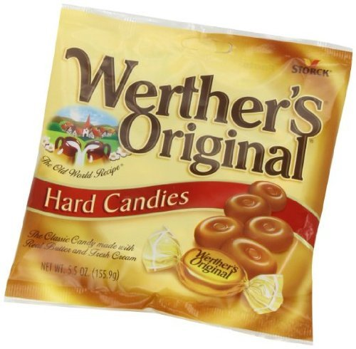 Werther's Original Hard Candies, 5.5 oz bag (Pack of 4)