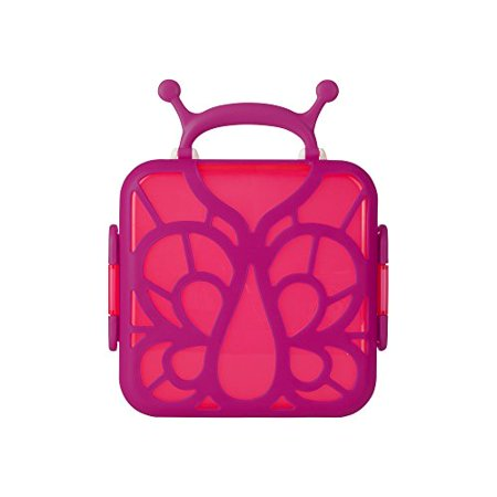 Boon Bento Lunch Box Pink Butterfly - image 1 of 1