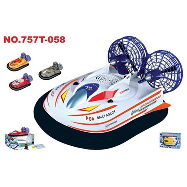 Microgear EC10420-White 18 in. Radio Control Hovercraft D...