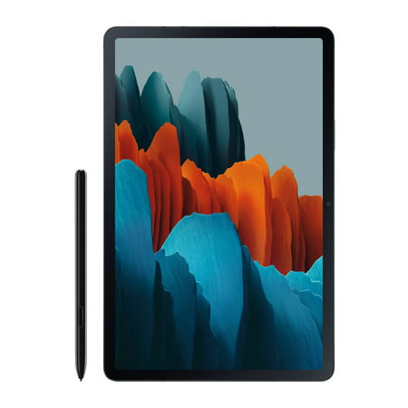 SAMSUNG Galaxy Tab S7 128GB Mystic Black (Wi-Fi) S Pen Included - SM-T870NZKAXAR
