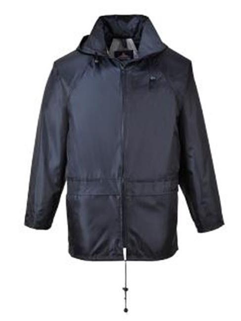 Portwest US440OGRXXXL Classic Rain Jacket, Olive - 3XL