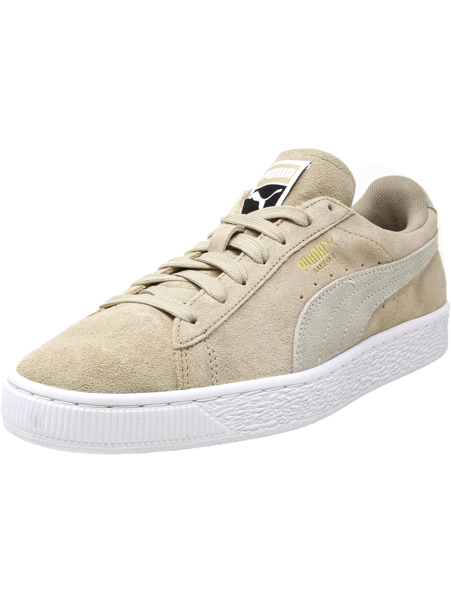 new arrival 58609 1f690 Puma Women's Classic Suede Safari / White Ankle-High Fashion Sneaker - 10M