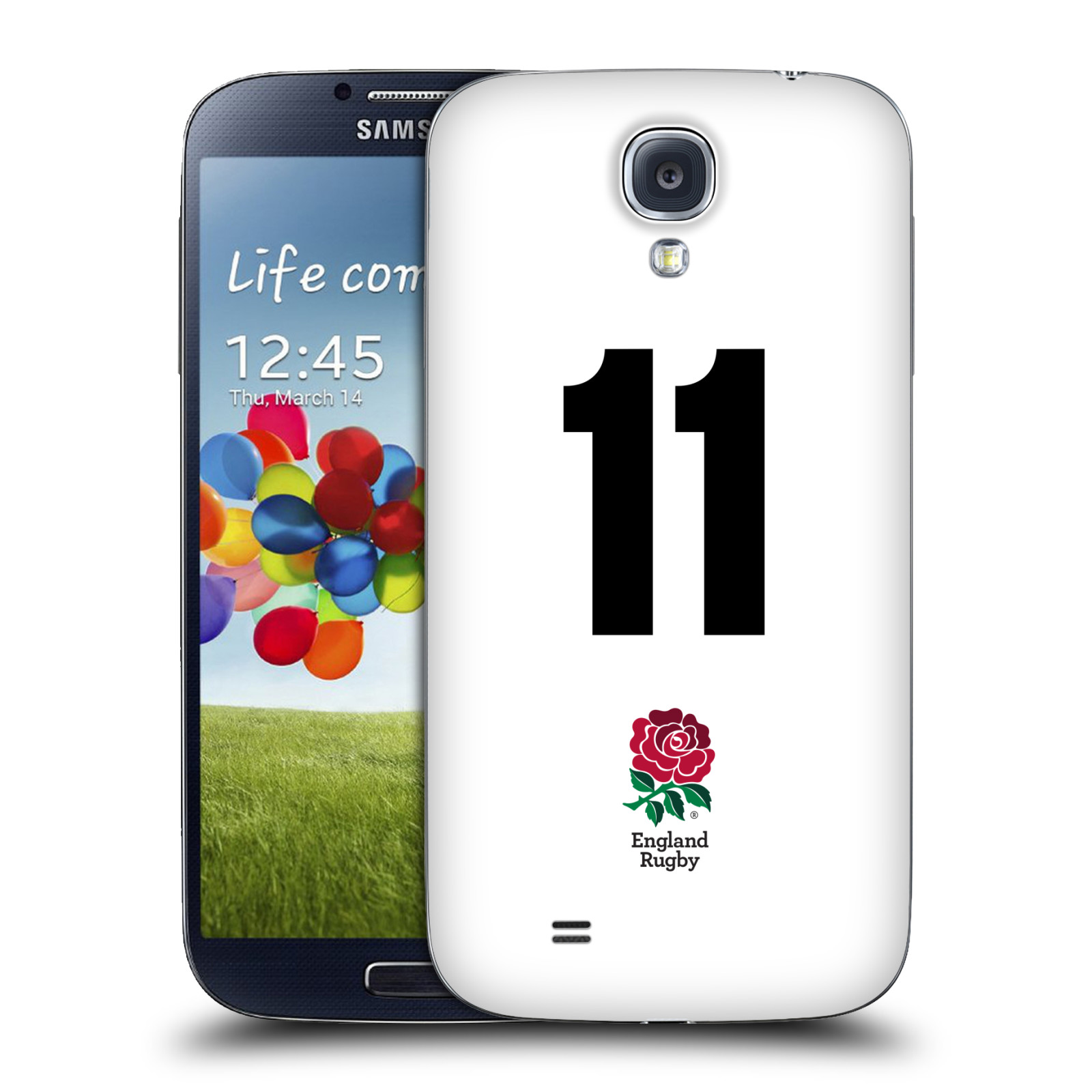 OFFICIAL ENGLAND RUGBY UNION 2016/17 HOME KIT REPLACEMENT BATTERY COVER FOR SAMSUNG PHONE 1