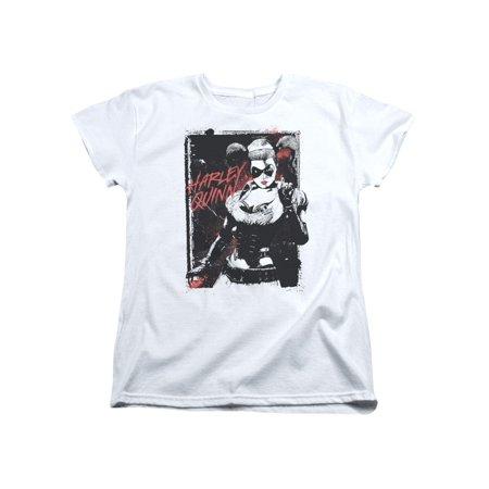 Batman DC Comics Harley Quinn Arkham Asylum Women's T-Shirt Tee