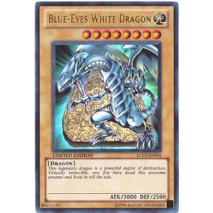 Blue Eyes White Dragon  Lc01 En004    Legendary Collection   Limited Edition   Ultra Rare  From Usa Brand Twc Of America