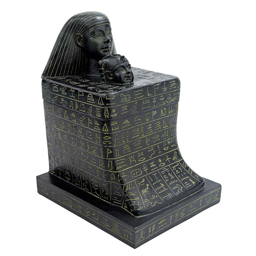 Senenmut with Neferure Block Sculptural Box