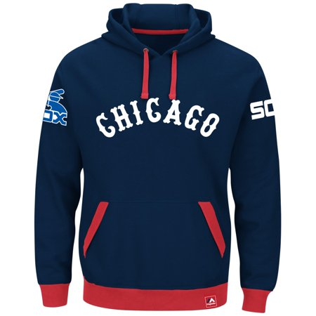 "Chicago White Sox Majestic MLB ""Forever"" Cooperstown Hooded Sweatshirt by"