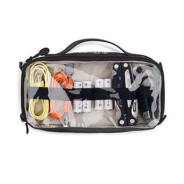 Tenba Cable Duo 4 Cable Pouch (Gray) - Cables & Accessories Storage -