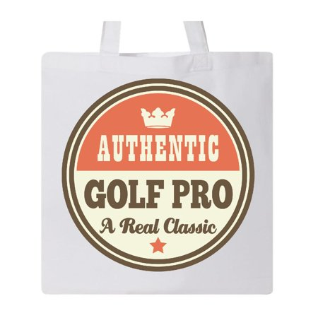 Pro Tote (Vintage Golf Pro Real Classic Tote Bag White One Size )