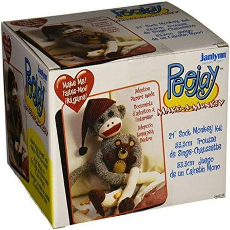 Janlynn Peejay The Sock Monkey (Janlynn Bear)