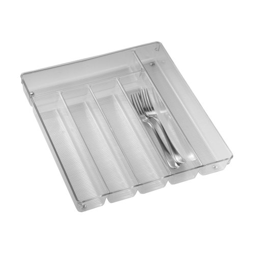 INTERDESIGN 55930 13.5x13.8Clear Linus Tray