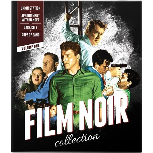 Film Noir Collection, Vol. 1 - Union Station / Appointment With Danger / Dark City / Rope Of Sand (Blu-ray) (Anamorphic Widescreen)