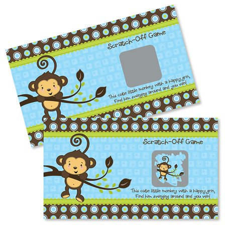Monkey Boy - Party Game Scratch Off Cards - 22 Count