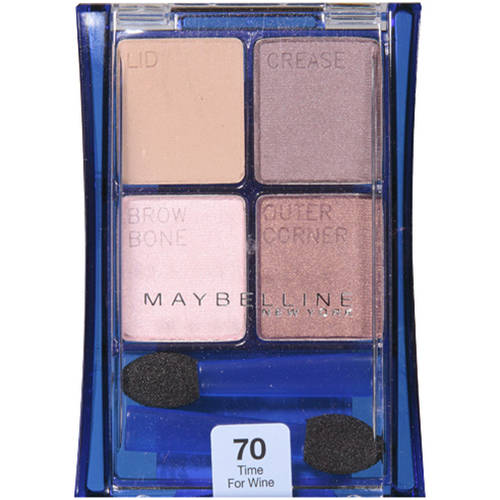 Maybelline Expert Wear Eye Shadow, 70 Time for Wine, 0.17 oz