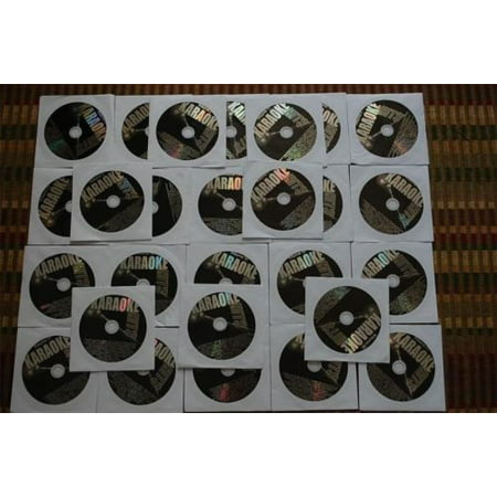 Karaoke Hits 27 Disc CDG Karaoke Music Set