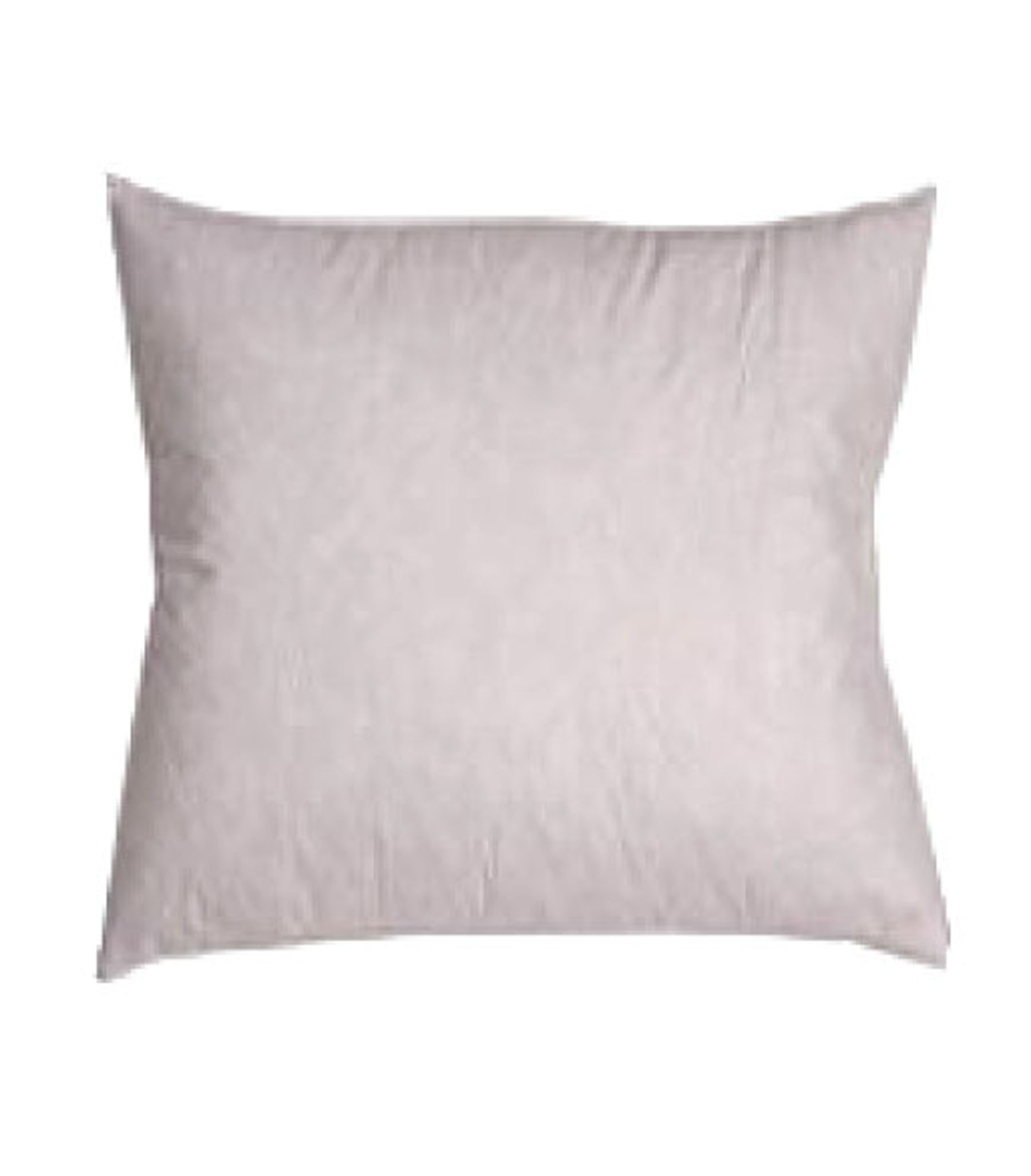 235tc Cotton Covered Square Pillow Insert Filled With Feather And Down White 28 X