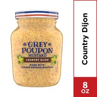 Grey Poupon Country Dijon Mustard, 8 oz Jar