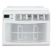 DELLA 10,000 BTU Window Air Conditioner Room Up to 450 Sq Feet 115V Energy Star Mini Compact w/ Remote Control, White