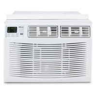 DELLA 10,000 BTU Window Air Conditioner Room Up to 450 Sq Feet 115V Energy Star Mini Compact w/ Remote Control, White
